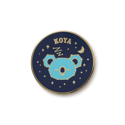 BT21 KOYA Universtar Metal Badge 2