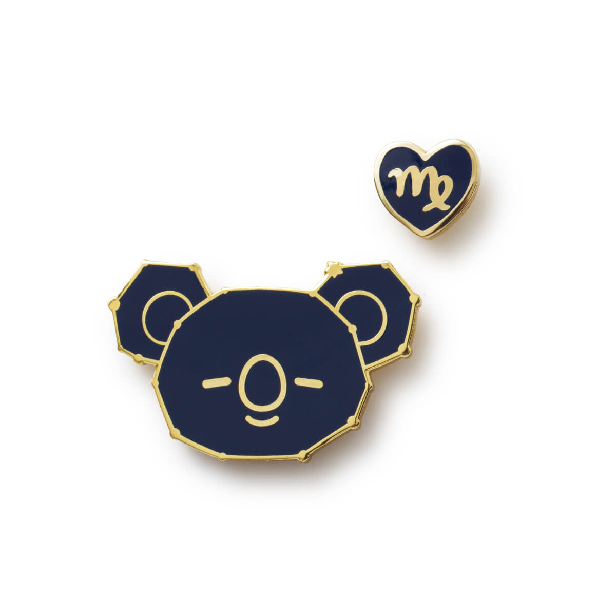 BT21 KOYA Universtar Metal Badge 3