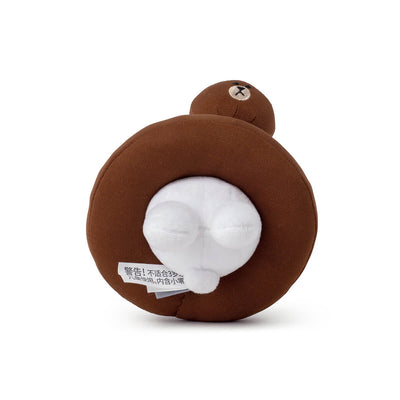 LINE FRIENDS CONY & BROWN Tube Plush Bag Charm