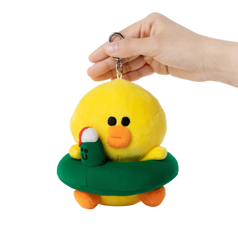 SALLY & EDWARD Tube Plush Bag Charm