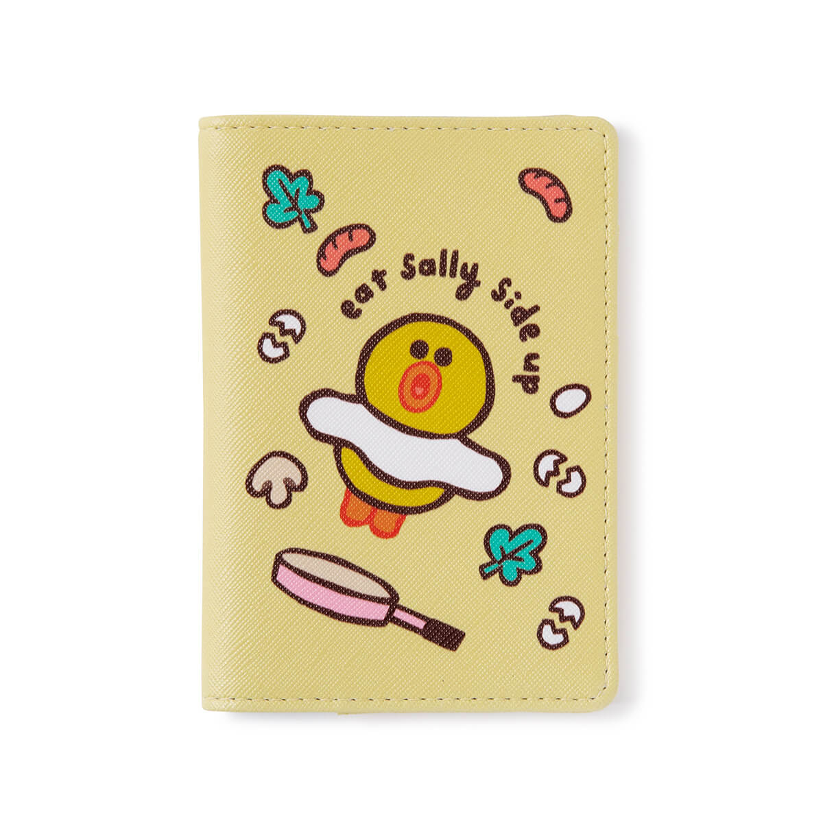 LINE FRIENDS SALLY Passport Case Yellow