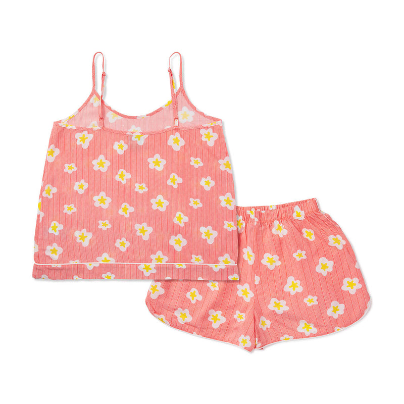 LINE FRIENDS SALLY Hot Sauce Sleeveless Pajama Set Red