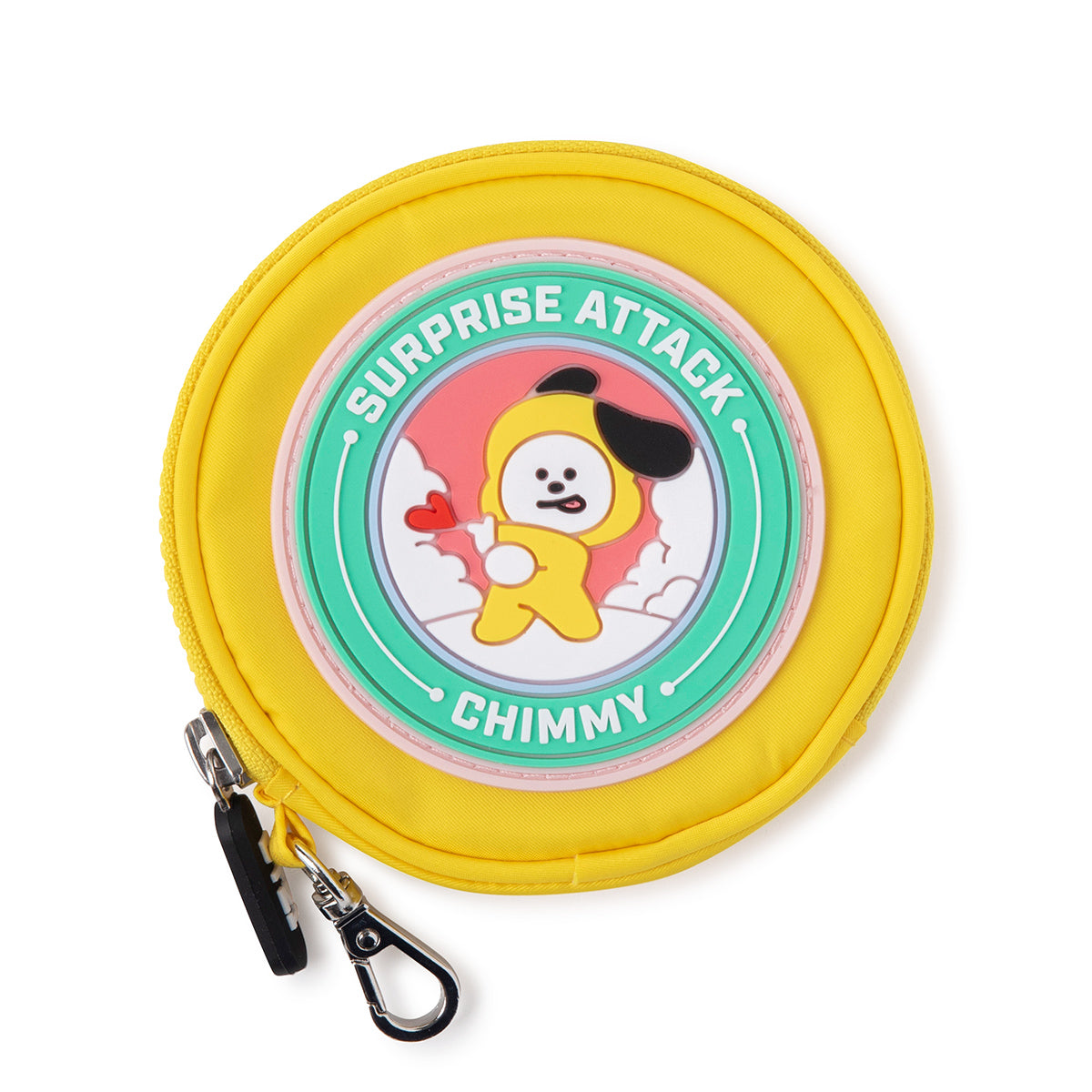 BT21 CHIMMY Wappen Round Coin Purse