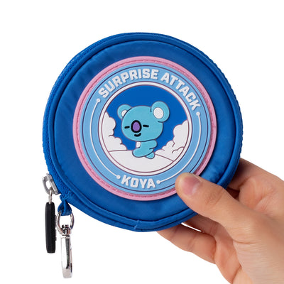 BT21 KOYA Wappen Round Coin Purse