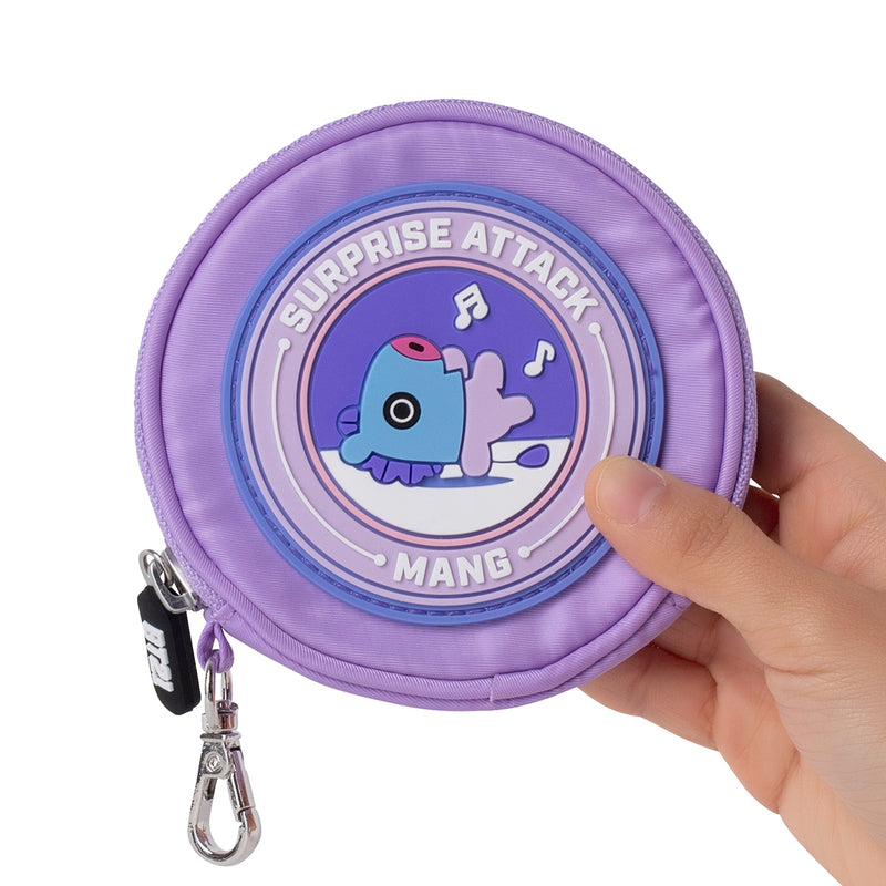 BT21 MANG Wappen Round Coin Purse