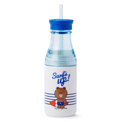 LINE FRIENDS BROWN Two Layer Bottle