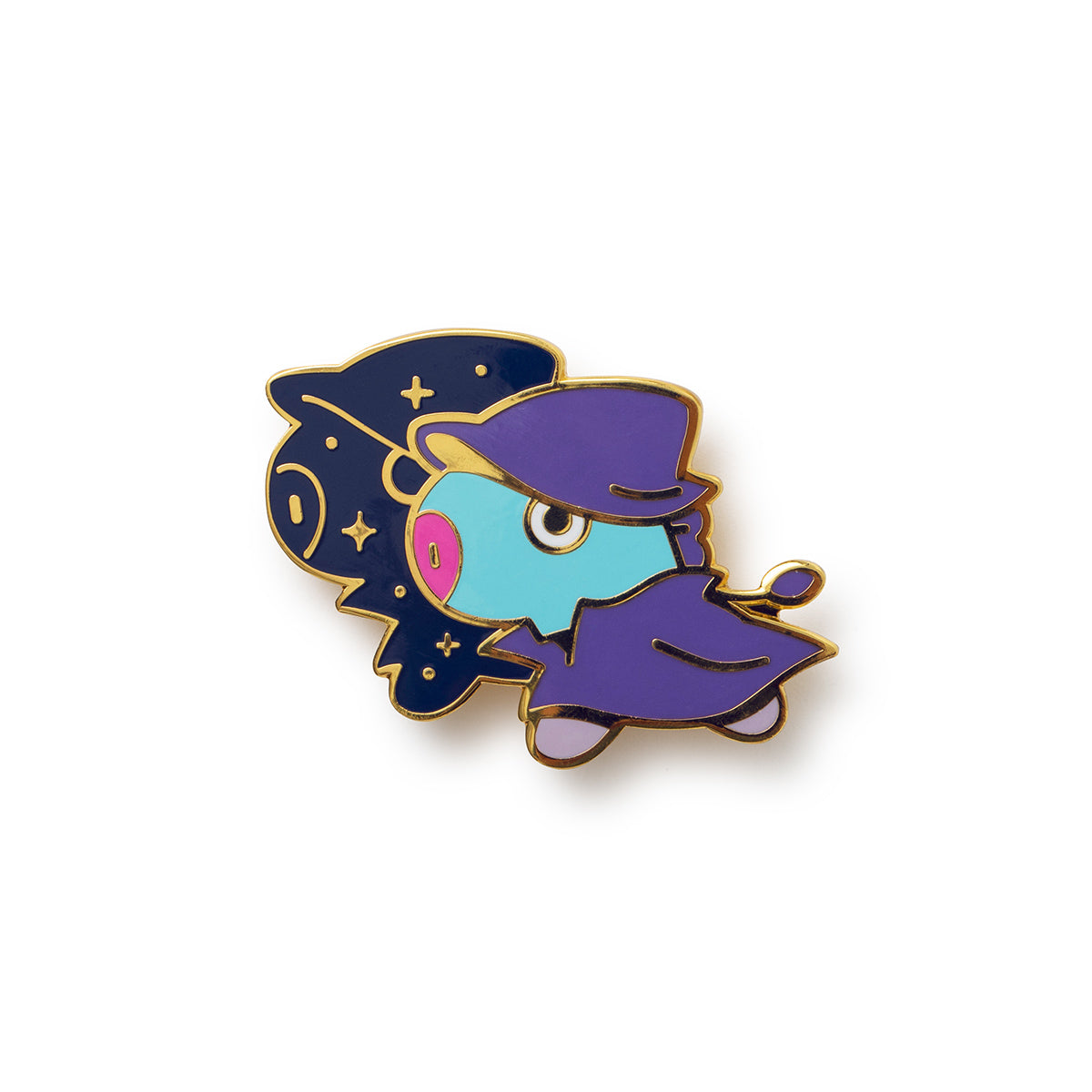 BT21 MANG Universtar Metal Badge 1