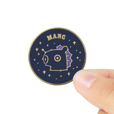 BT21 MANG Universtar Metal Badge 2