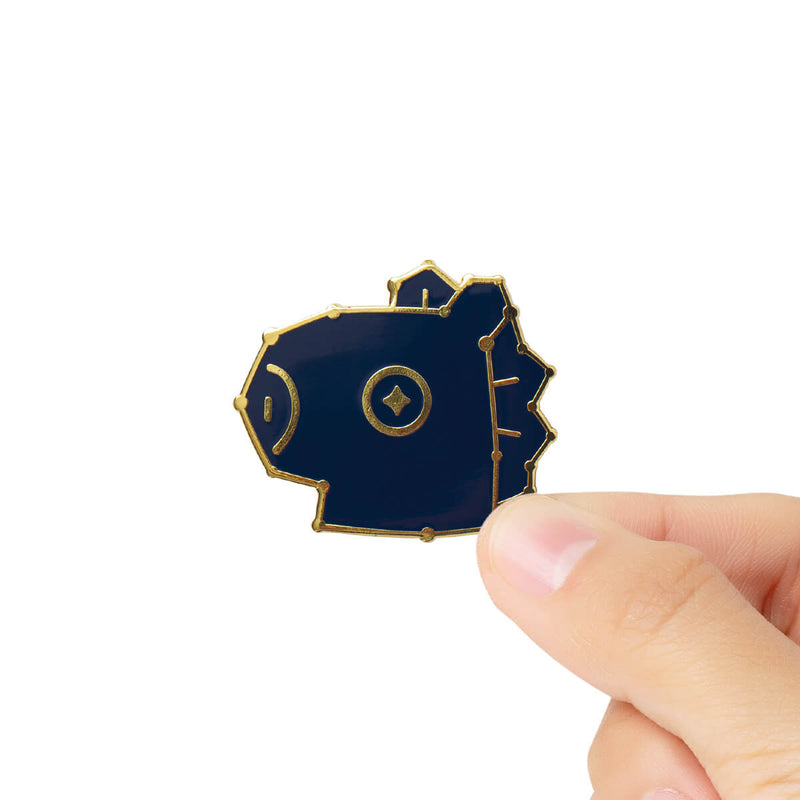 BT21 MANG Universtar Metal Badge 3