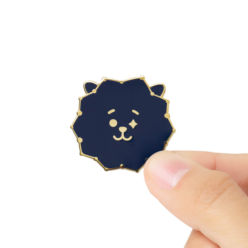 BT21 RJ Universtar Metal Badge 3