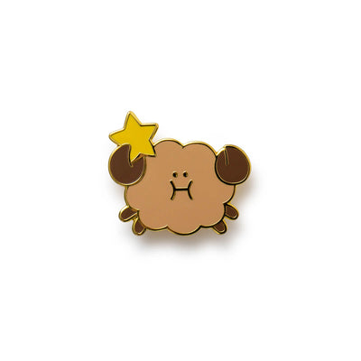 BT21 SHOOKY Universtar Metal Badge 1