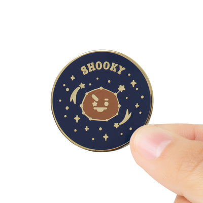 BT21 SHOOKY Universtar Metal Badge 2