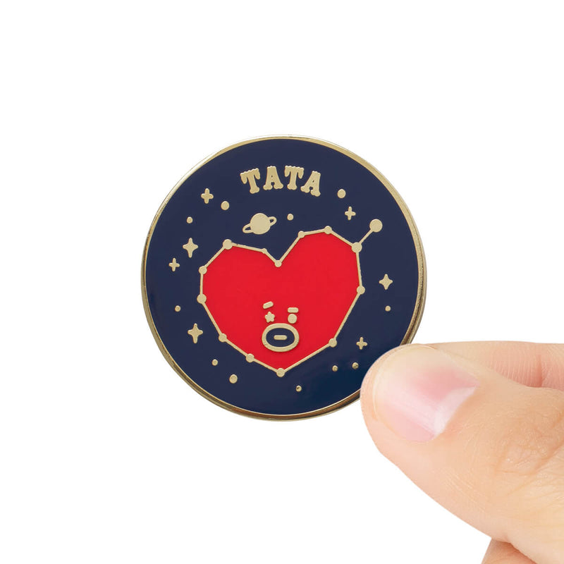 BT21 TATA Universtar Metal Badge 2