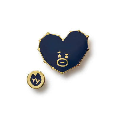 BT21 TATA Universtar Metal Badge 3