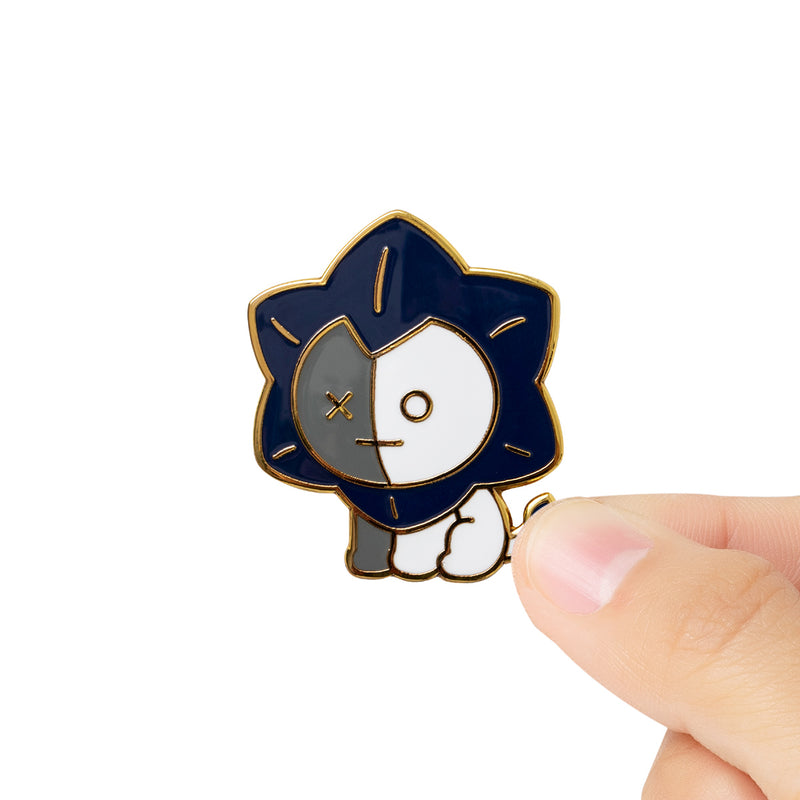 BT21 VAN Universtar Metal Badge 1