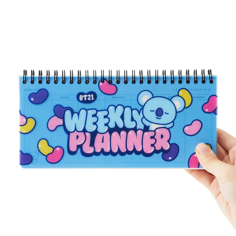 BT21 KOYA Sweet Weekly Planner