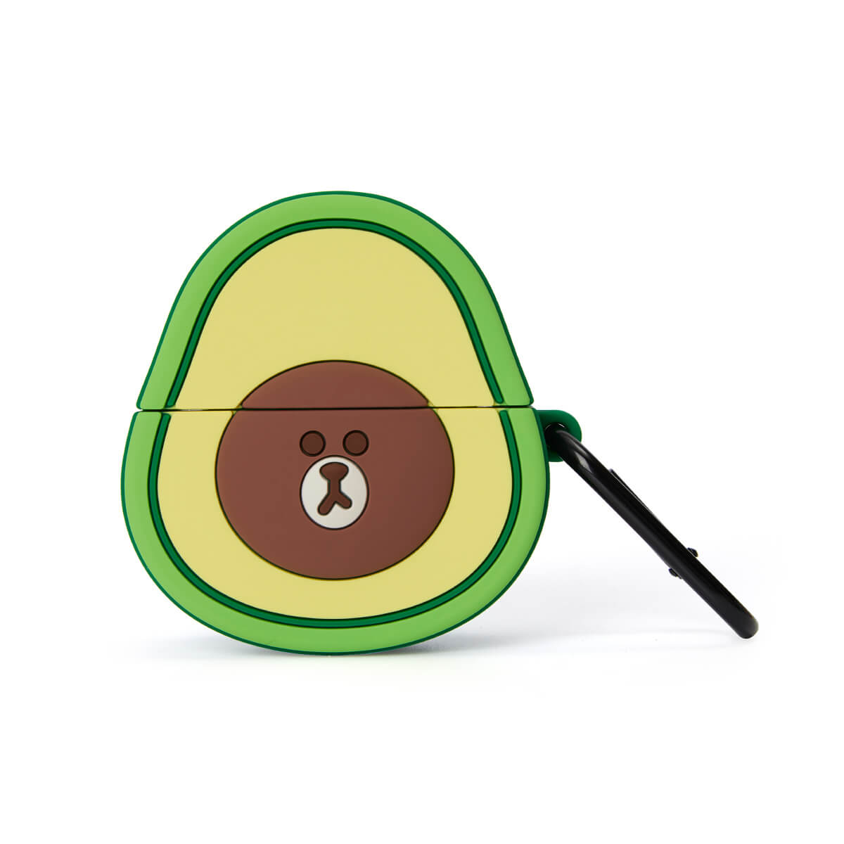 LINE FRIENDS BROWN Silicone Avocado AirPods Pro Case