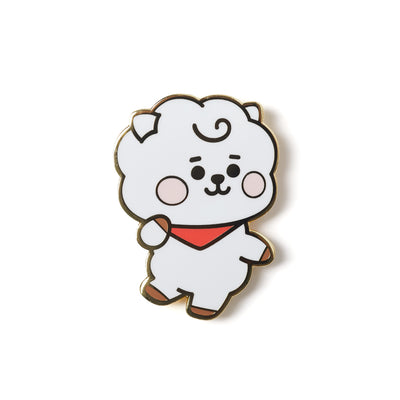 BT21 RJ Baby Metal Badge