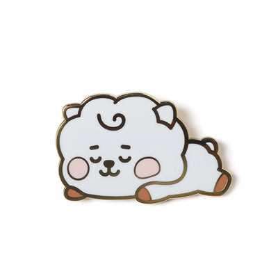 BT21 RJ BABY Enamel Pin 2 Piece Set