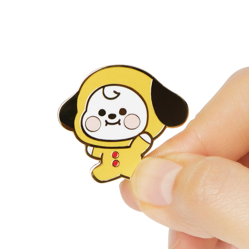 BT21 CHIMMY Baby Metal Badge