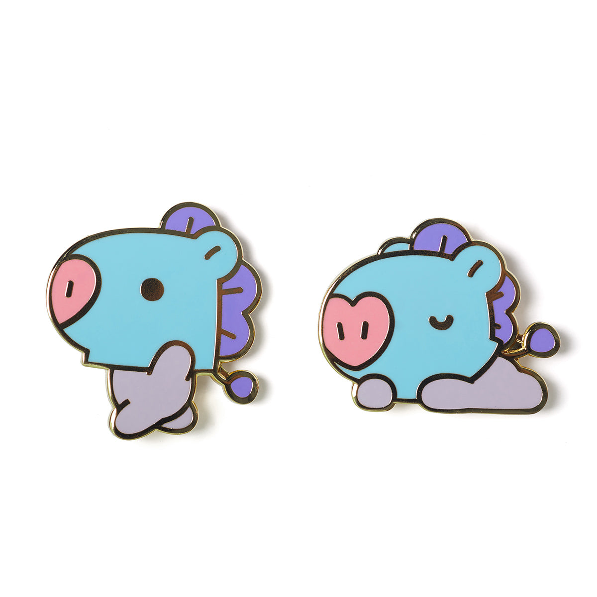 BT21 MANG Baby Metal Badge
