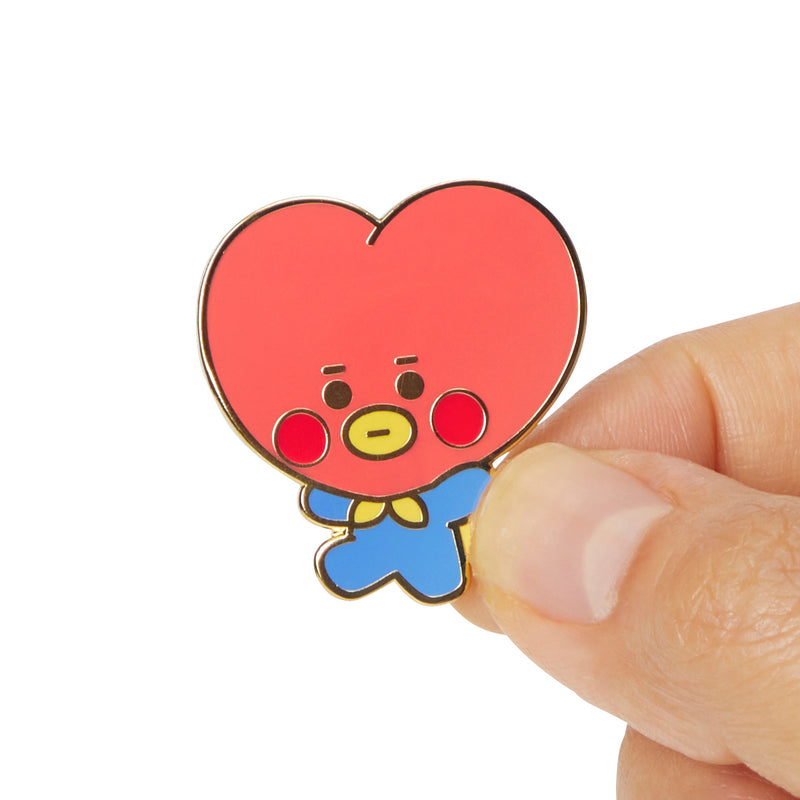 BT21 TATA Baby Metal Badge