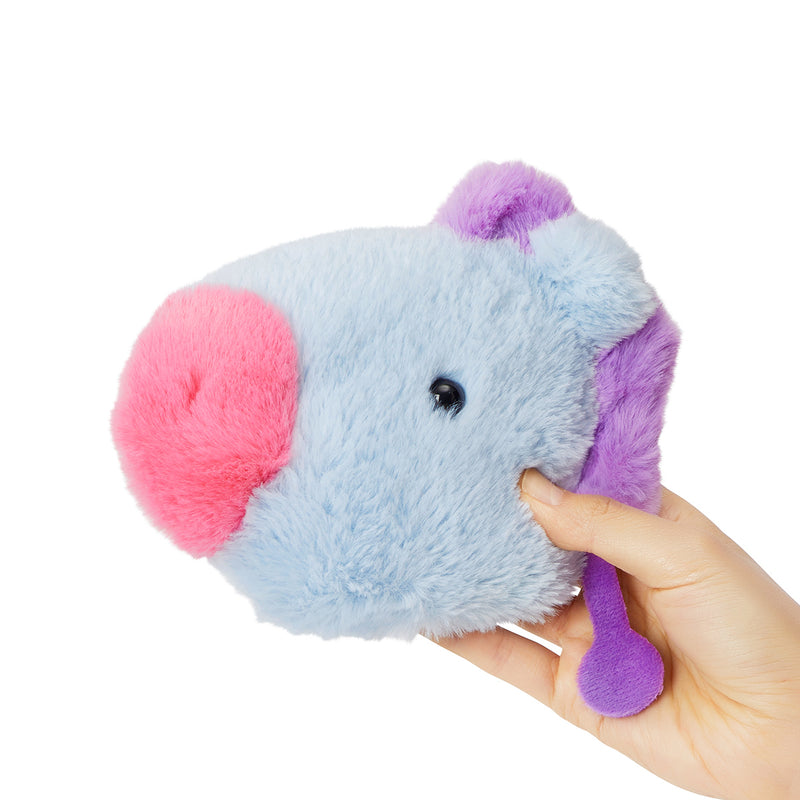 BT21 MANG Baby Flat Fur Mini Pouch