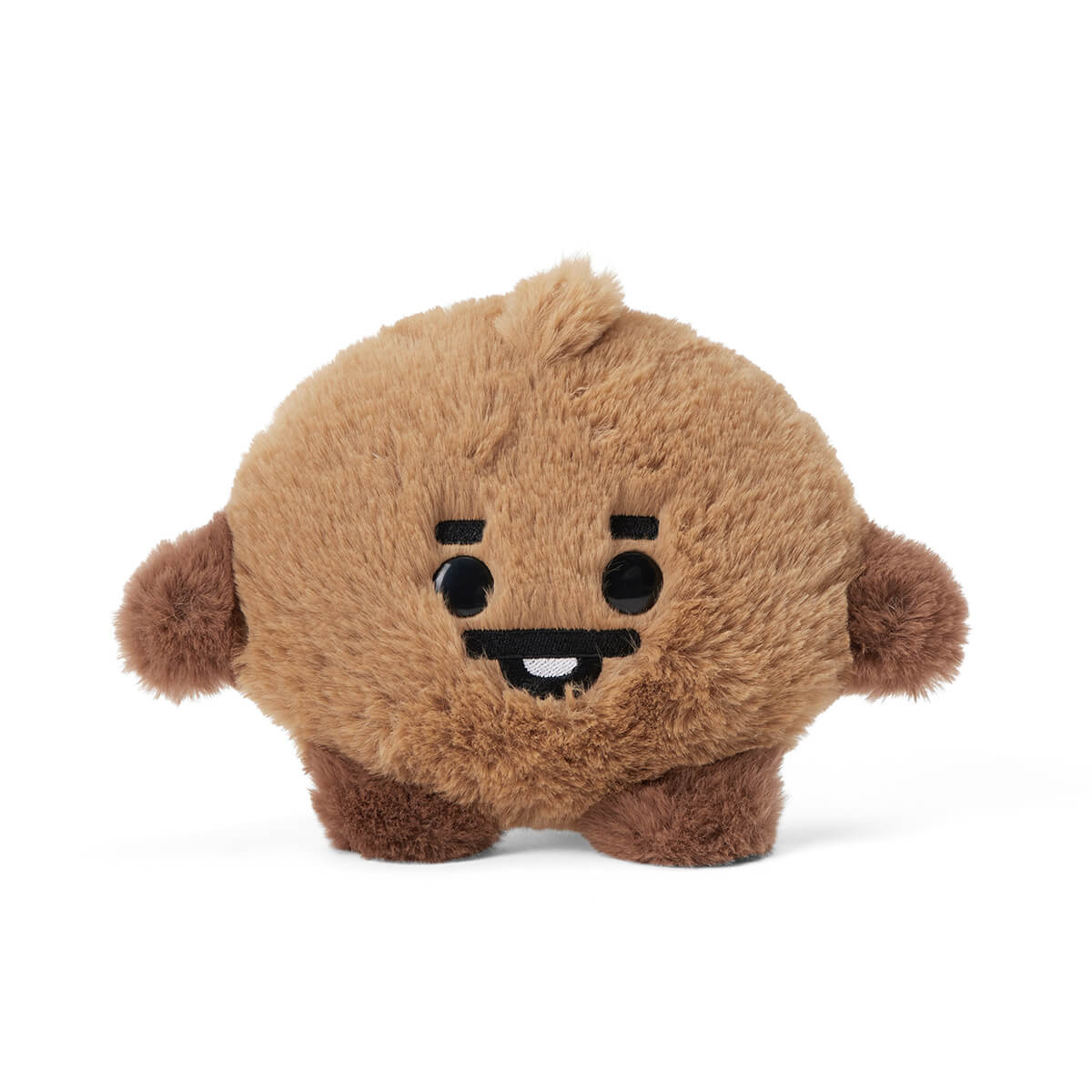BT21 SHOOKY BABY Flat Fur Mini Pouch