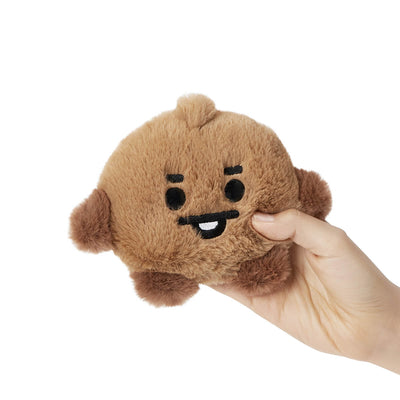 BT21 SHOOKY BABY Flat Fur Standing Doll 7.9""