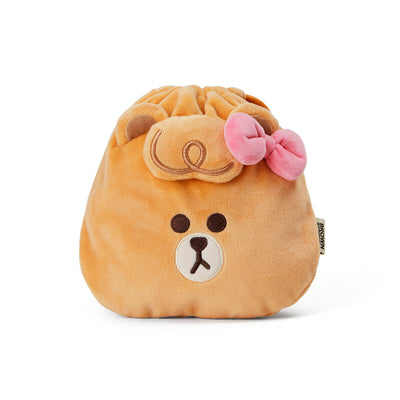 LINE FRIENDS CHOCO MINI FRIENDS Drawstring Pouch
