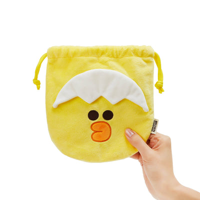 LINE FRIENDS SALLY MINI FRIENDS Drawstring Pouch