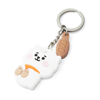 BT21 RJ Baby Silicone Keyring