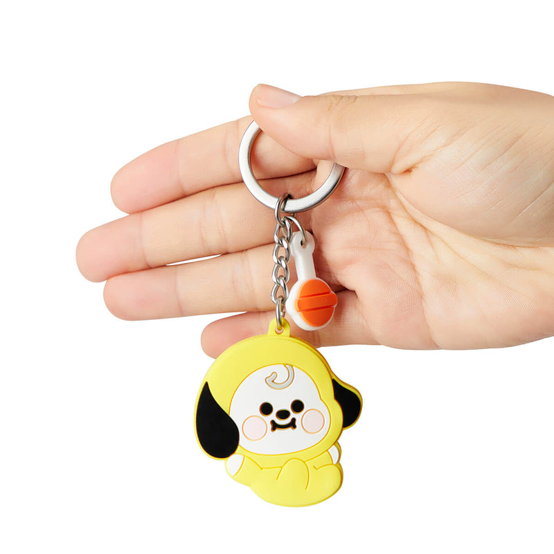 BT21 CHIMMY Baby Silicone Keyring
