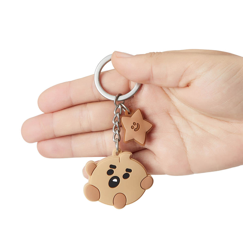BT21 SHOOKY Baby Silicone Keyring