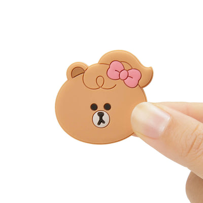 LINE FRIENDS CHOCO MINI FRIENDS Silicone Magnet