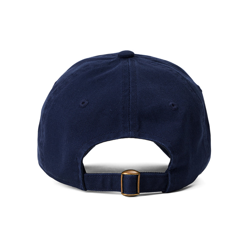 BROWN  University Washing Ball Cap Navy