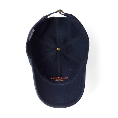 BROWN University Washed Ball Cap Navy