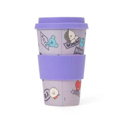 BT21 Reusable Tumbler (400ml/13.5 fl.oz) Purple