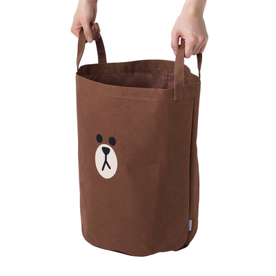 BROWN Space Saver Bag Storage Bag with Cover