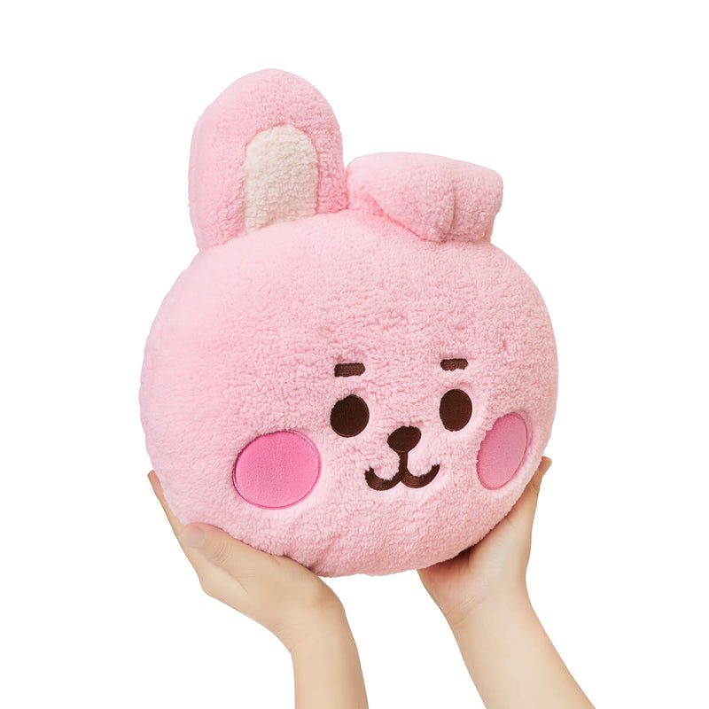 BT21 COOKY BABY Boucle Face Cushion