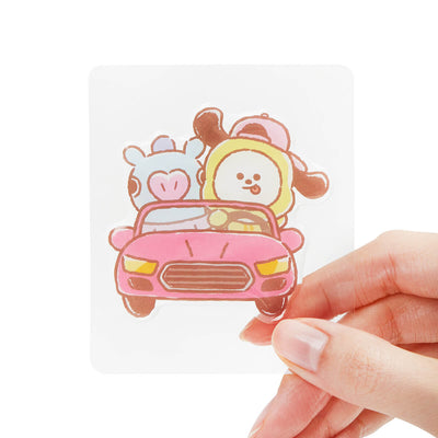 BT21 MANG & CHIMMY Epoxy Decal Sticker (35)