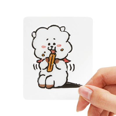 BT21 RJ Epoxy Decal Sticker (10)