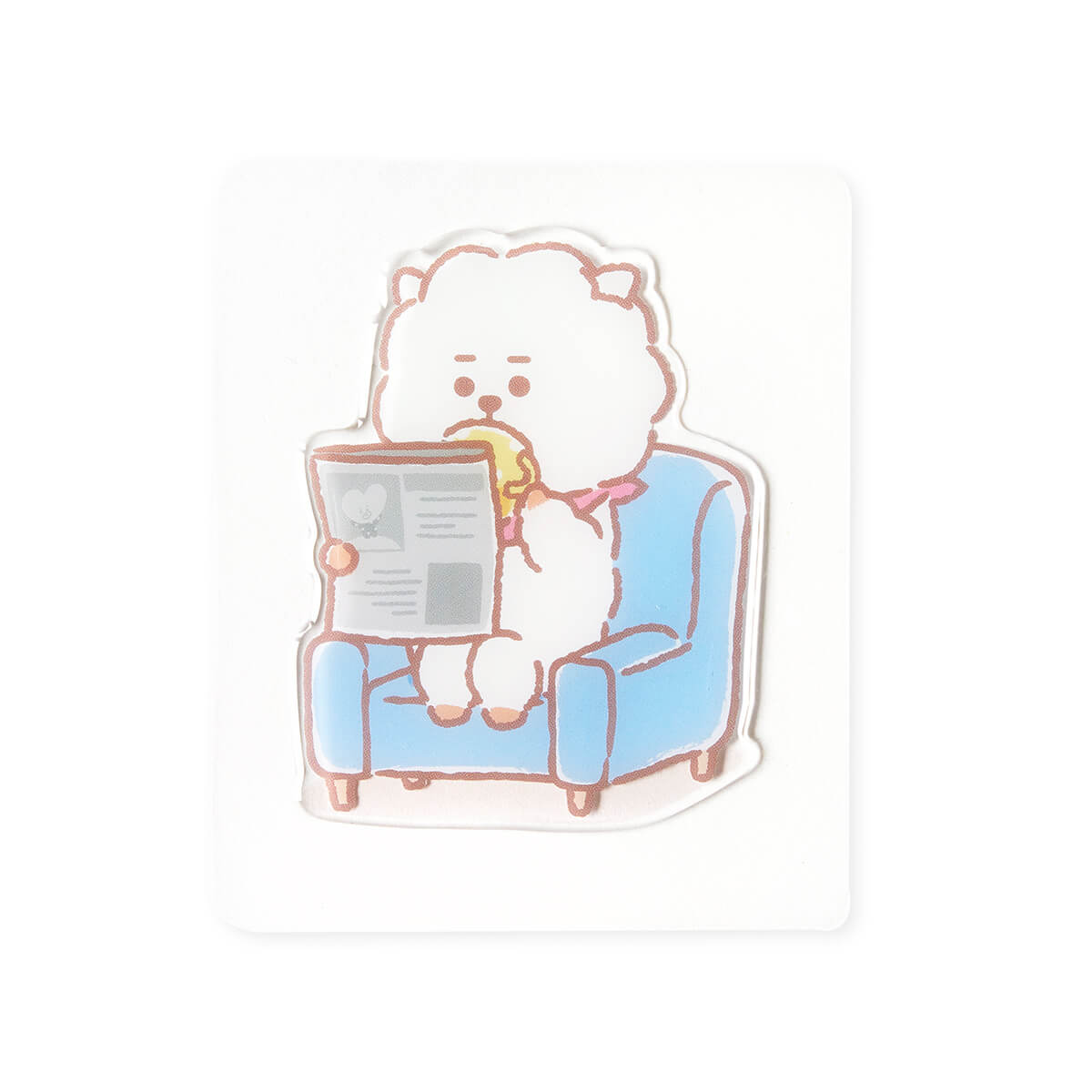 BT21 RJ Epoxy Decal Sticker (14)