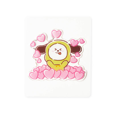BT21 CHIMMY Epoxy Decal Sticker (08)