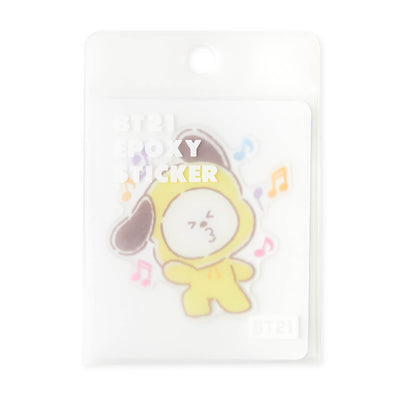 BT21 CHIMMY Epoxy Decal Sticker (09)