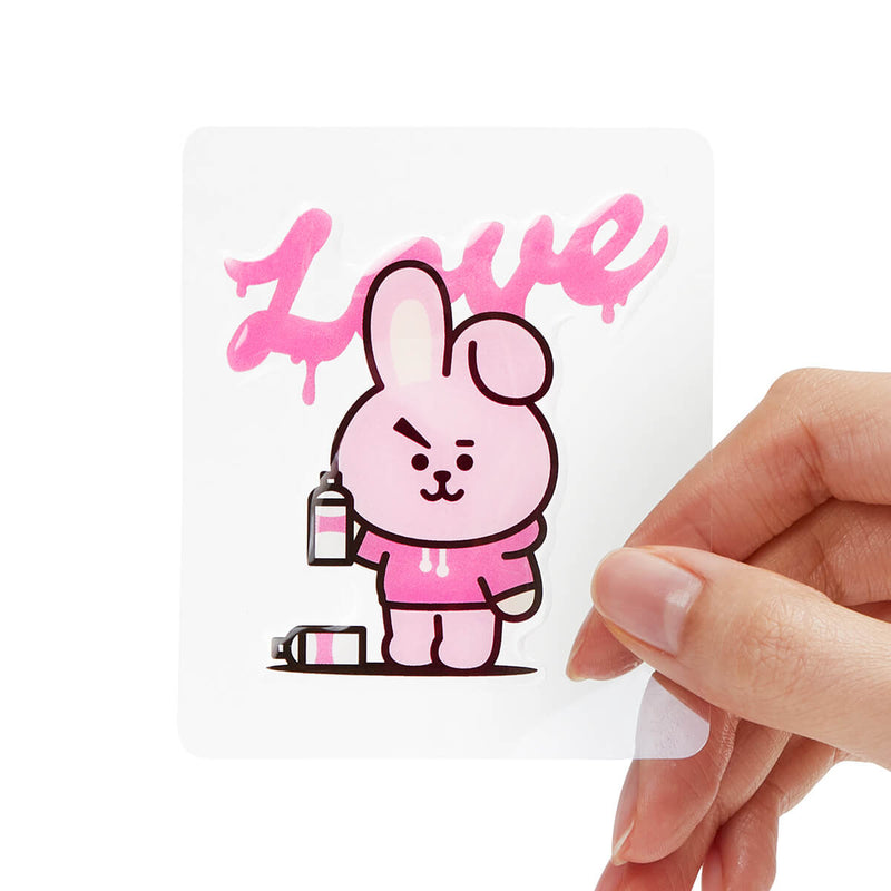 BT21 COOKY Epoxy Decal Sticker (28)