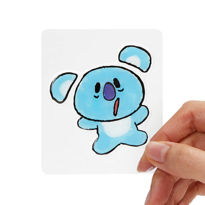 BT21 KOYA Epoxy Decal Sticker (19)