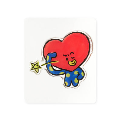 BT21 TATA Epoxy Decal Sticker (01)