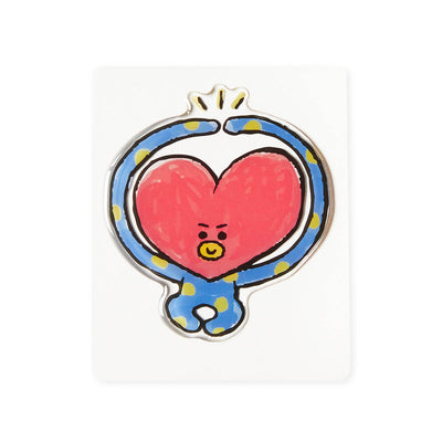 BT21 TATA Epoxy Decal Sticker (03)