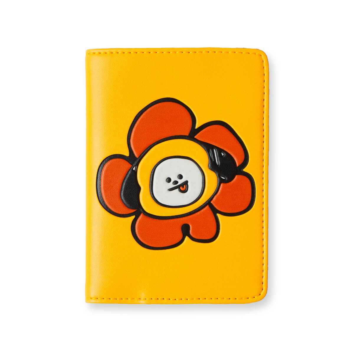 BT21 CHIMMY Flower Graphic Passport Cover